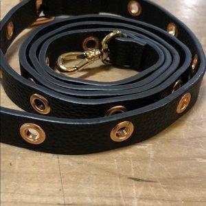 Bandolier black/rose strap